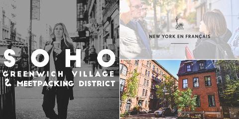 Visite Guidée privative de SoHo, Greenwich Village et Meatpacking District (après-midi)