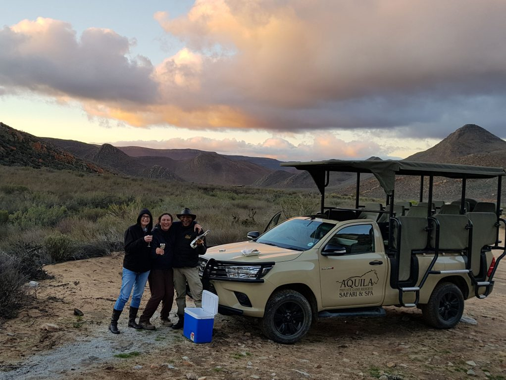 Aquila Big 5 Safari Day Tour from Cape Town
