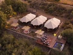 Inverdoorn Kuganha  Luxury Safari Tent  - Private Transfer