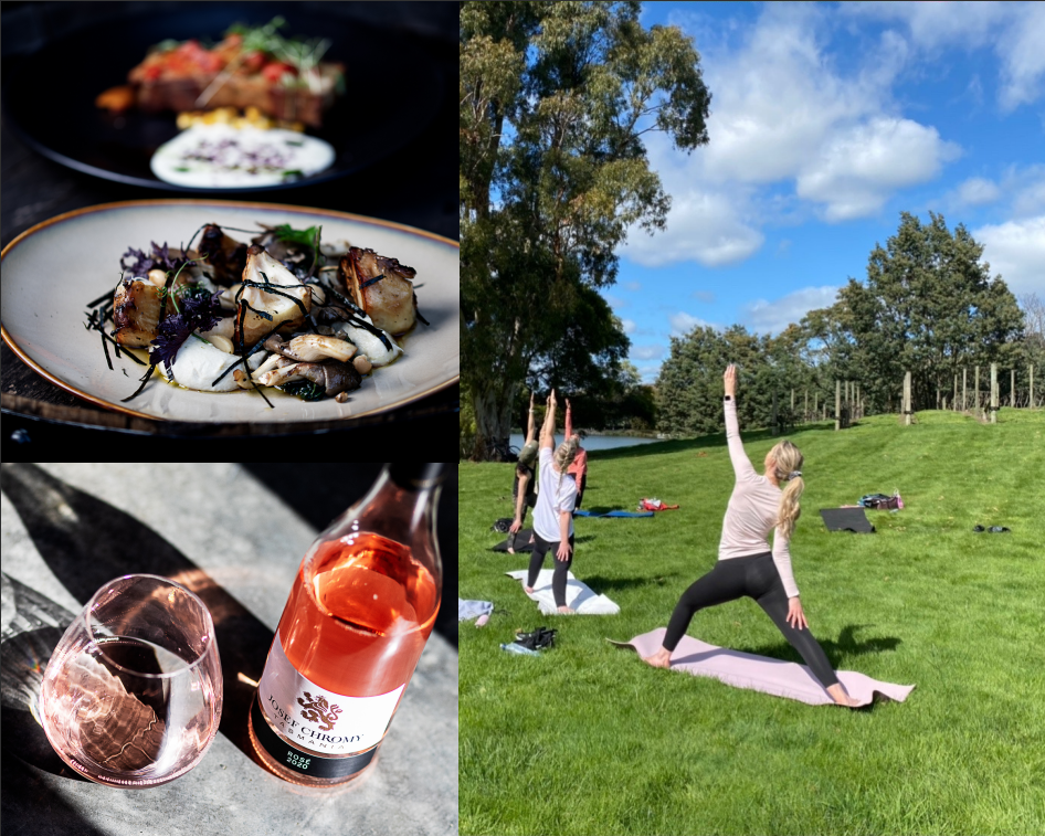 Yoga In The Vines - Yoga, wine and lunch
