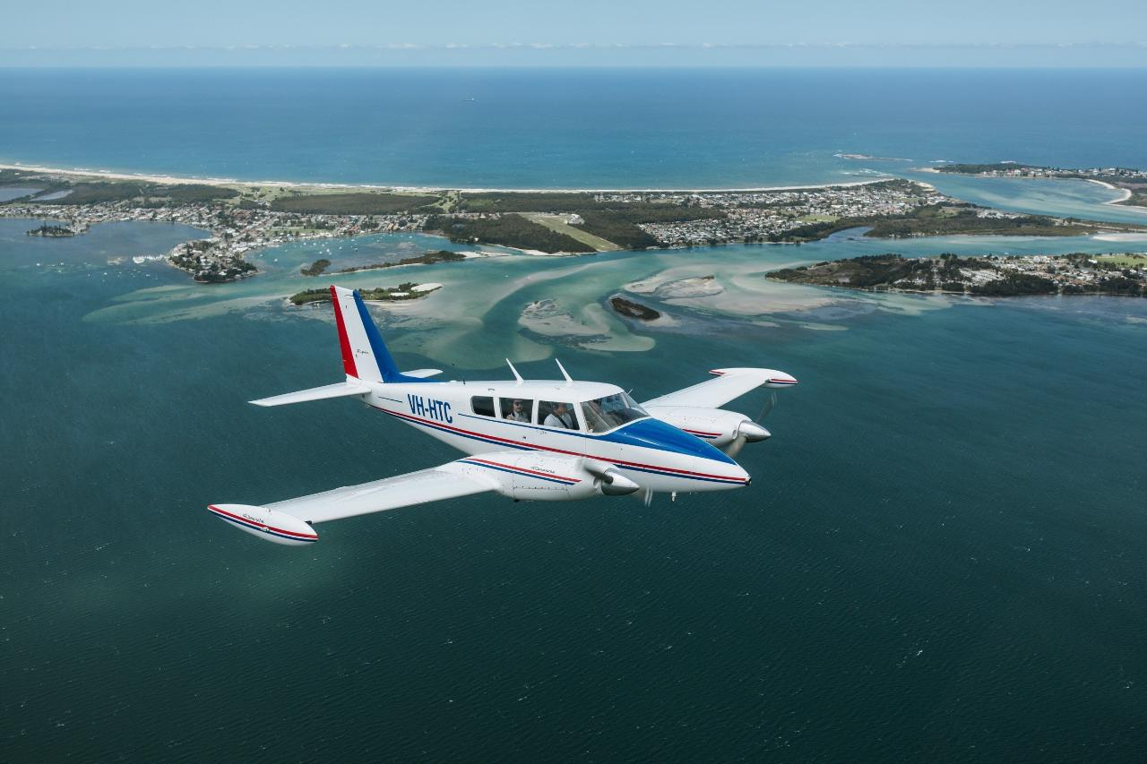 Newcastle & Lake Macquarie scenic flight - 20MIN