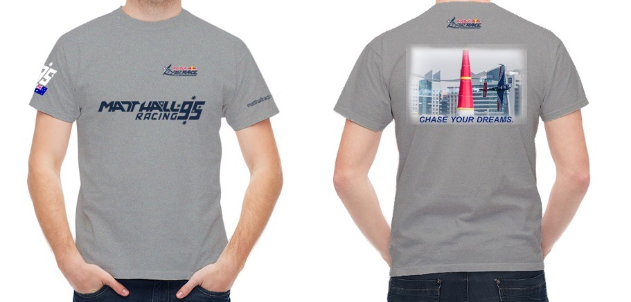 Official Red Bull Air Race Team MHR T-Shirt - Grey