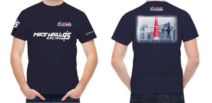 Official Red Bull Air Race Team MHR T-Shirt - Navy