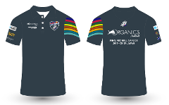 Mens Race Team Polo