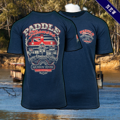 T Shirt - Paddlesteamers - Asphalt Marle - Adults