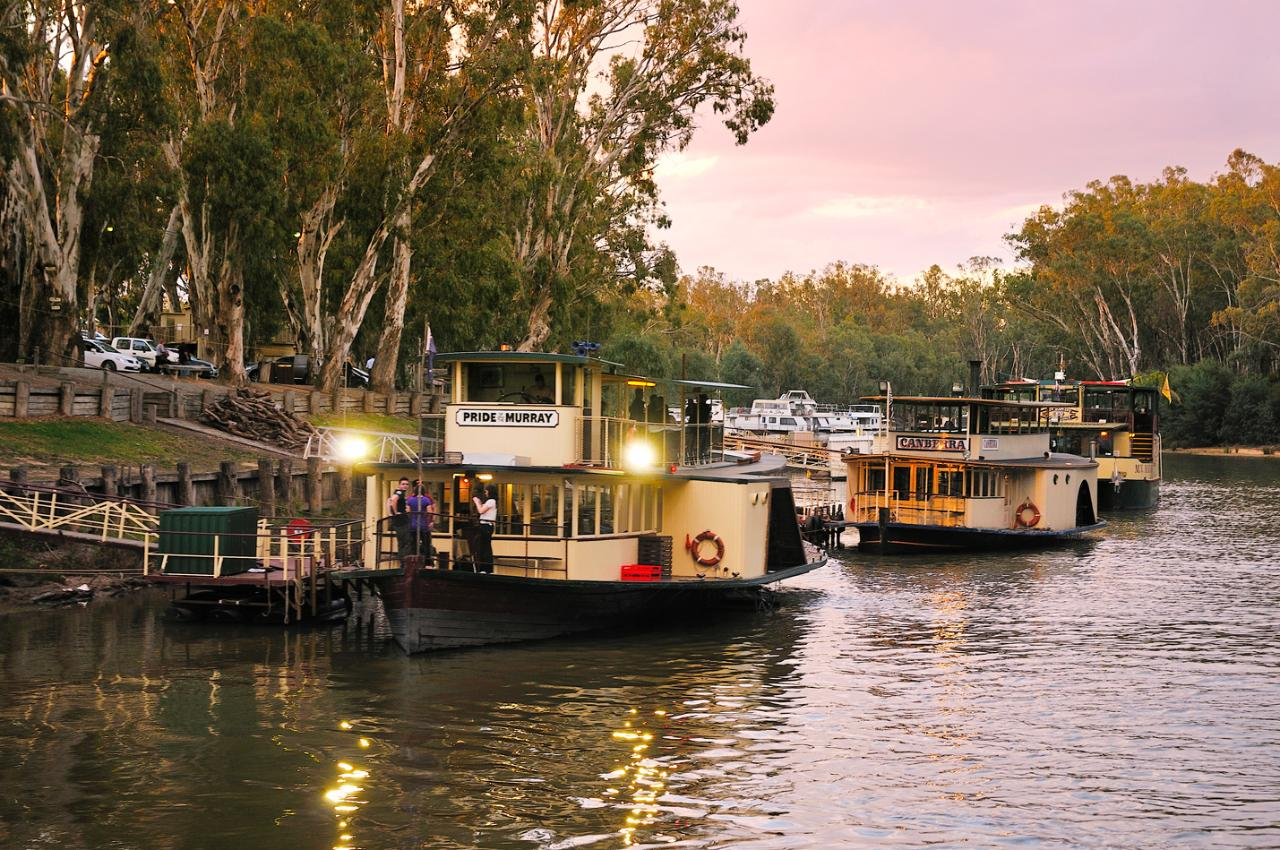 Family Dinner Cruise - Pride of the Murray - Murray River