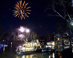 New Years Eve Cruise - Five Course Dinner + Champagne on arrival with Live Music