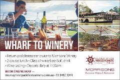 Wharf to Winery - Cruise & Lunch Package