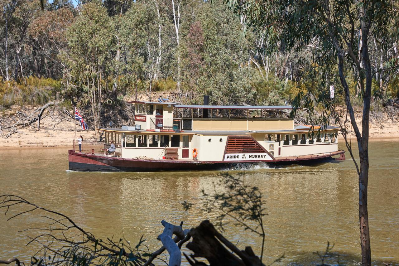 Gift Voucher - Riverlunch Cafe & Cruise Package - Pride of the Murray