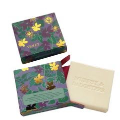 Boxed Soap - Violet