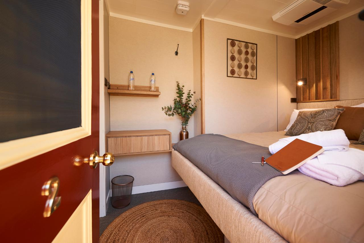 3 Night Upper Murray Discovery Cruise - Upper Deck Queen Bed