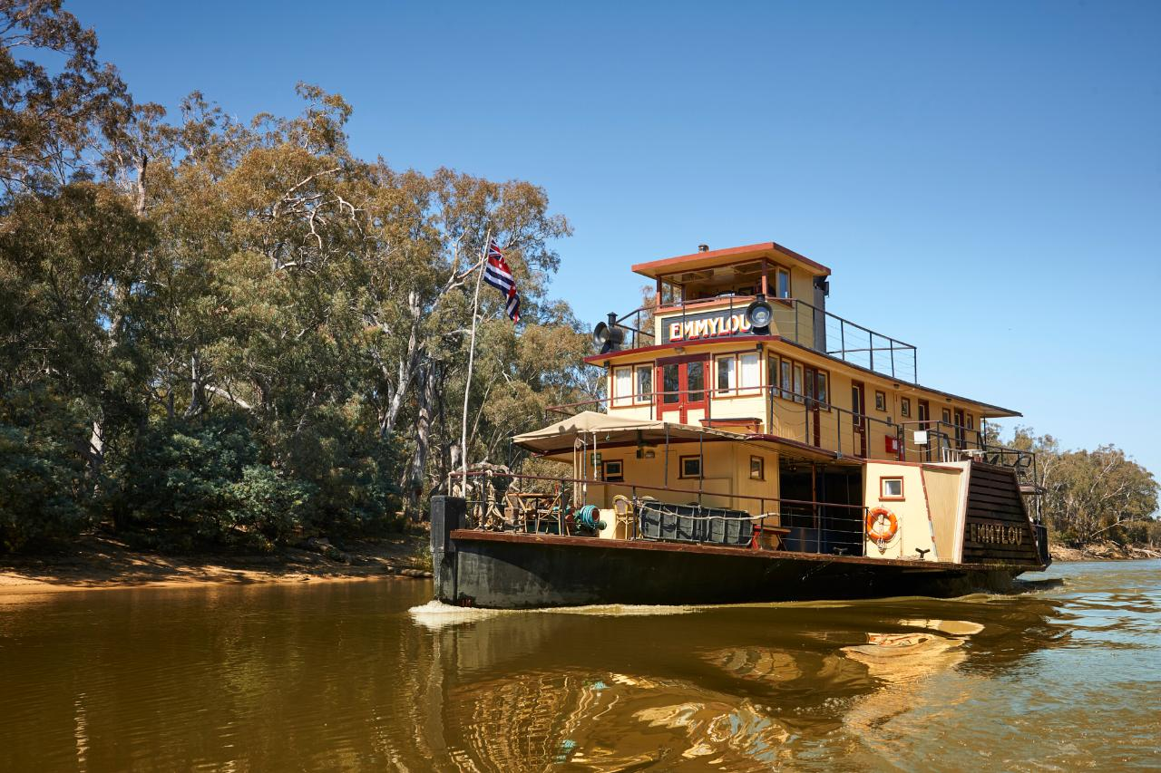 2 Night Upper Murray Highlights Cruise - Solo Traveller - Murray
