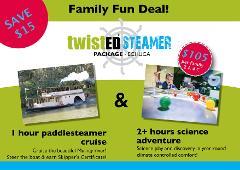 Gift Voucher - Twisted Steamer Family Deal