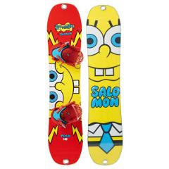 90cm Kids Snowboard Salomon Team Sponge Bob