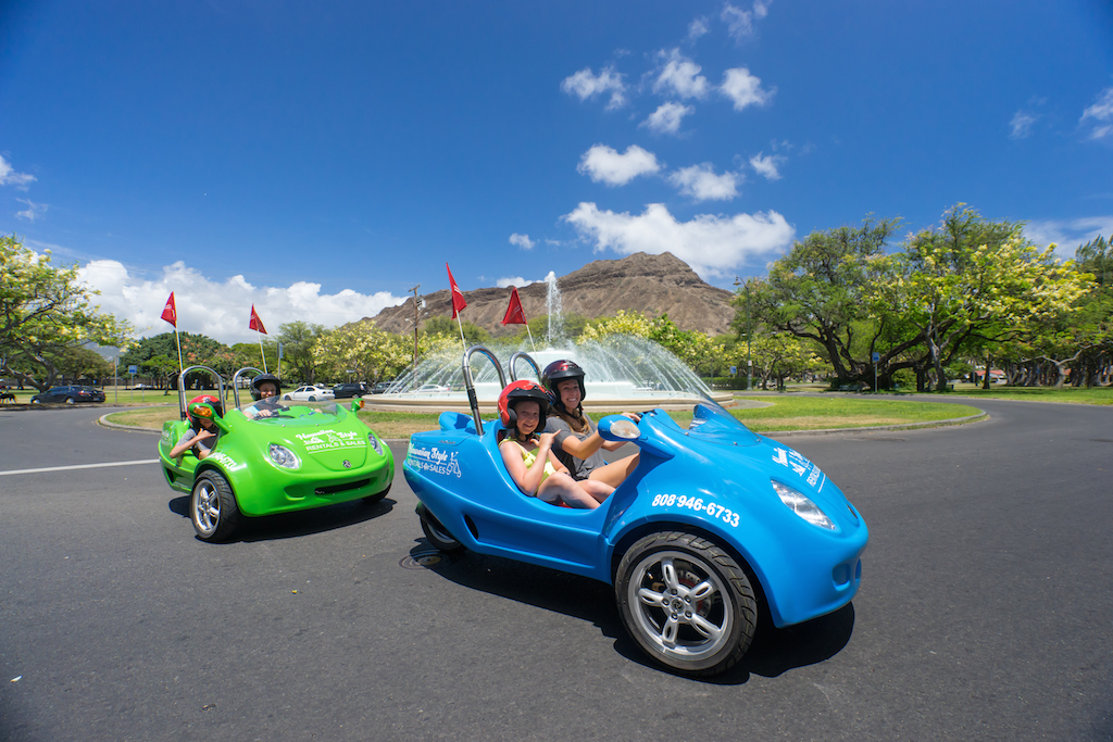 Scoot Coupe Rentals-Car License Required