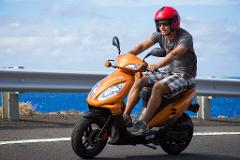Sport Moped Rental-Car License Required