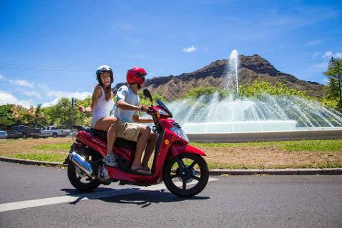 Premium Scooter Rental 200cc-Motorcycle License Required