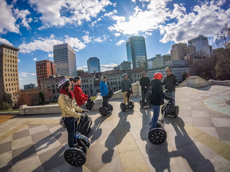 1 Hour Richmond Landmark Segway PT Tour