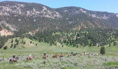 Whitewater Rafting and Horseback Ride