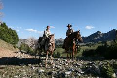 Whitewater Rafting and Yellowstone Horseback Ride