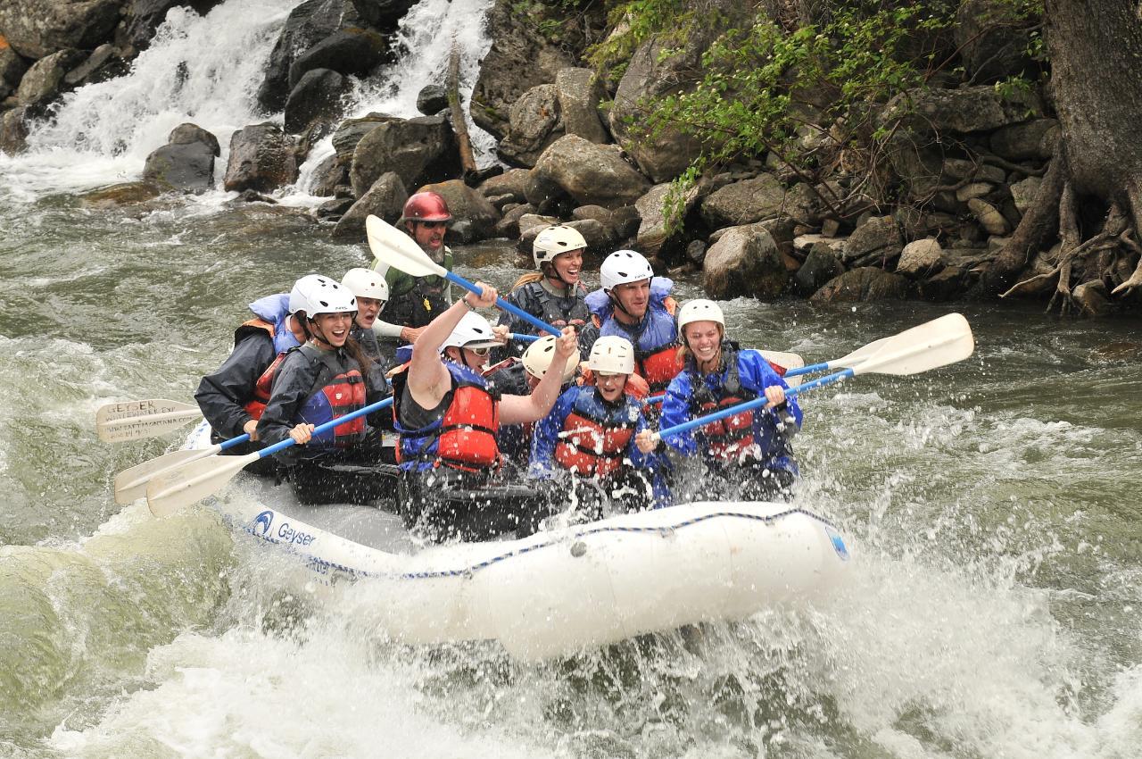 Full Day Whitewater Adventure II-III (IV)