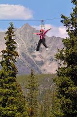 Whitewater Rafting and Nature Zipline Tour at the Big Sky Resort
