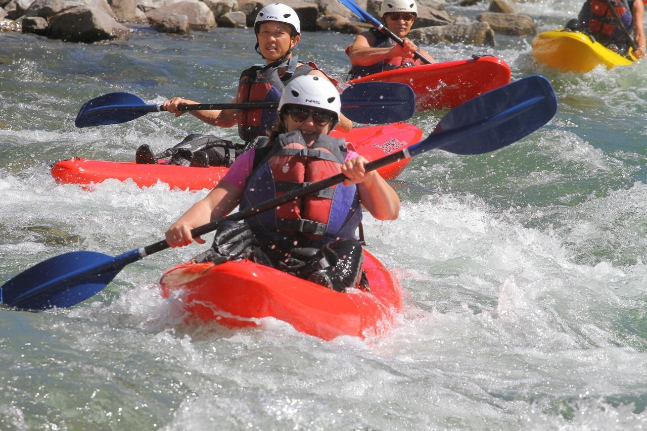 Sit-On-Top Kayak Adventure (II-III)