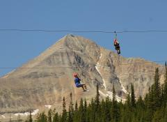 Whitewater Rafting and Adventure Zipline Tour at the Big Sky Resort