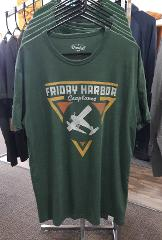Friday Harbor Seaplanes T-Shirt - Green
