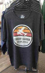 Friday Harbor Seaplanes T-Shirt - Charcoal