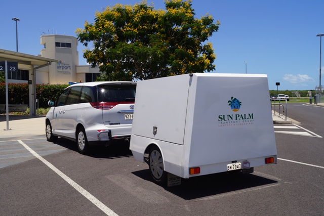 Northern Beaches to Cairns Airport - Luxury 7 Seat Car