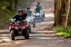 EXCURSION EN QUAD - Journée complète - Mardi ou Jeudi - Sur demande - Le nombre de participants est de 6 minimum et de 11 maximum - Age minimum 12 ans - Excursion avec guide Francophone.