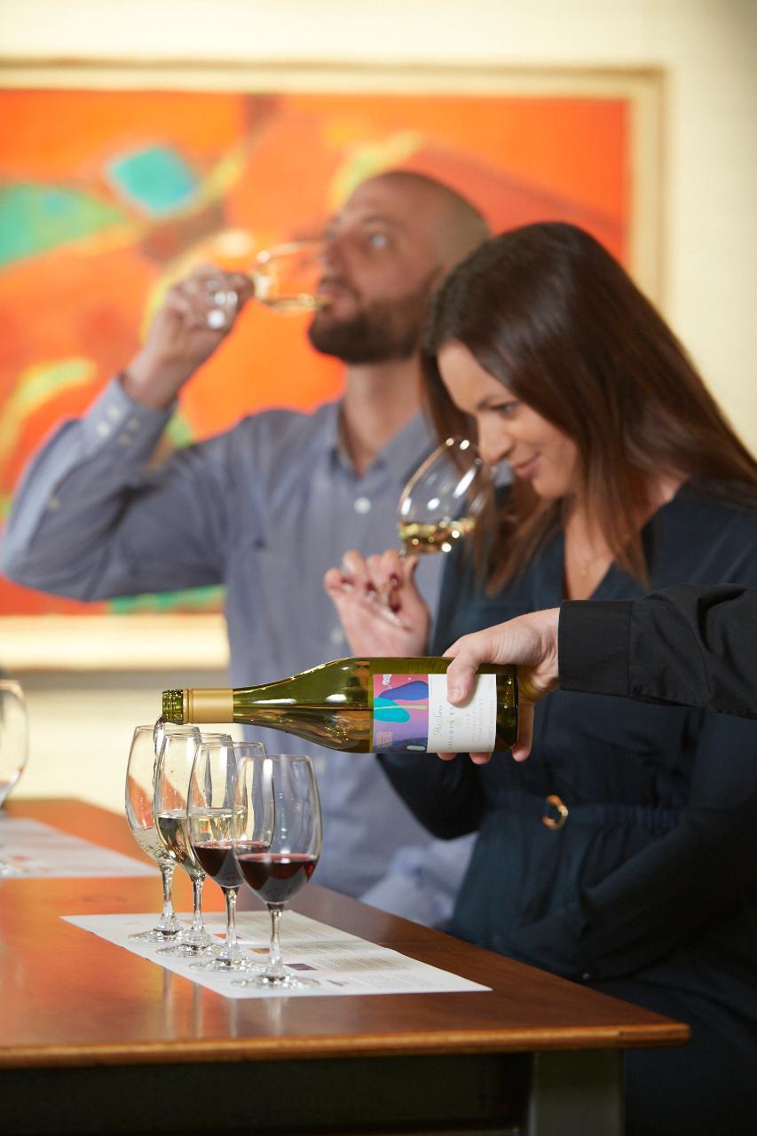 Triple Celebration: Art, Wine & Ultimate Lunch