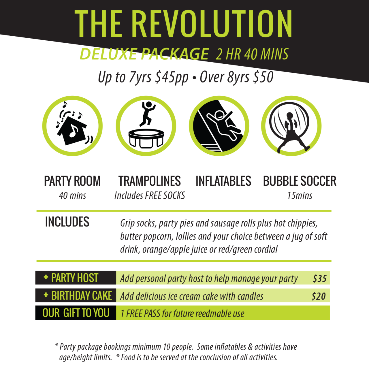 The Revolution Deluxe Package [8 Years old +]