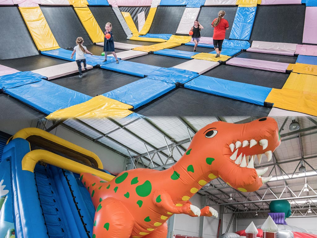 Junior Inflatables and Trampoline Pass [Under 120cm]