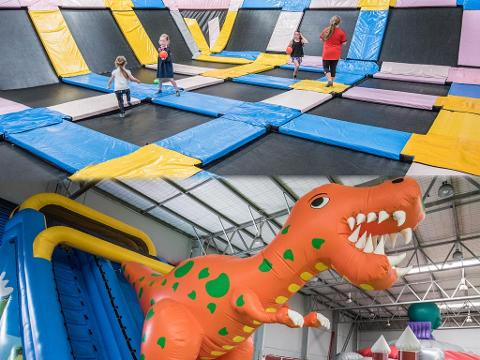 Inflatables and  Trampoline Pass