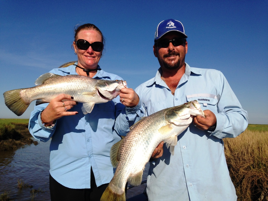 Shady Camp One Day Barra Fishing Charter