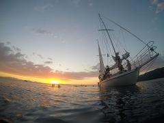 Sail Barbary evening and sunset cruise to the carvings