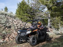 1- Hour Polaris RZR 570 Guided Tour on The Ammonoosuc Rail Trail (Approx. 1 hr)