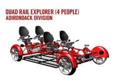ADK FALL Quad Rail Explorer (4 PEOPLE)