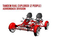 ADK FALL Tandem Rail Explorer (2 PEOPLE)