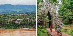 Hoeven/Rioux & Slaby Families' Southeast Asia Bike Adventure