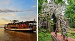 Mekong Bike & Boat Adventure - Upstream