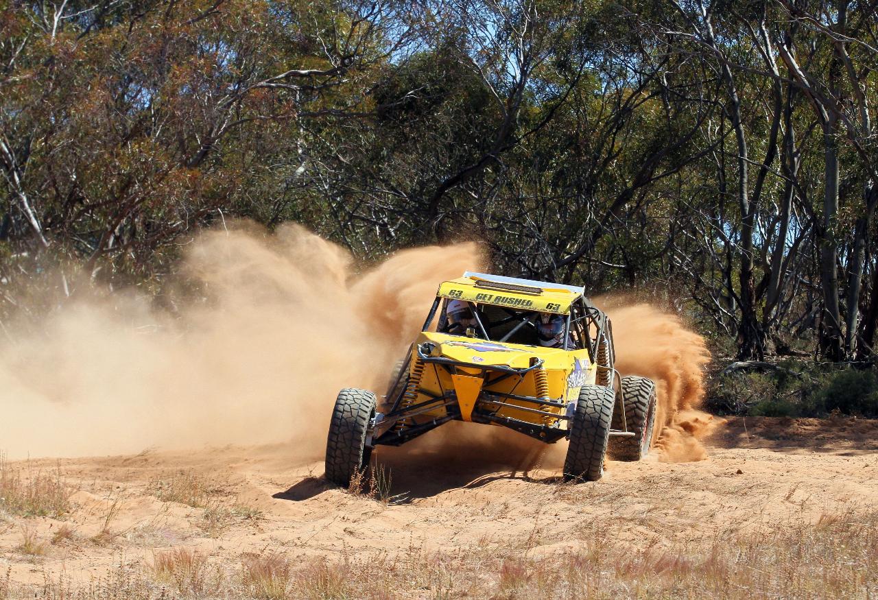 PASSENGER RIDES - V8 Buggy 3 LAP Adelaide