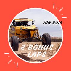 2 BONUS Drive Laps -  JAN 2019