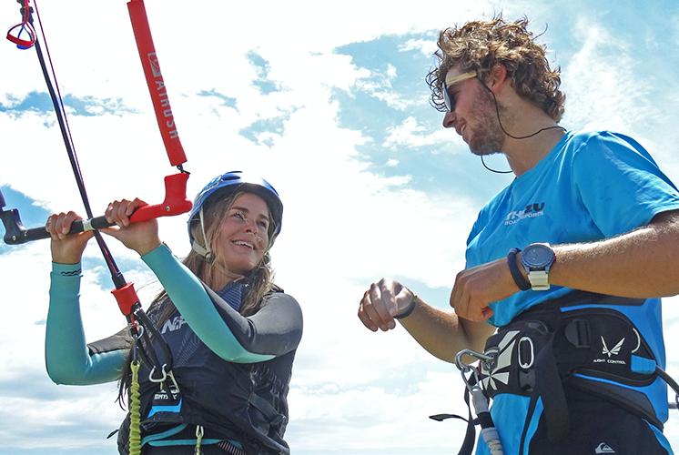 Kiteboarding - Step 1 - Beach Control