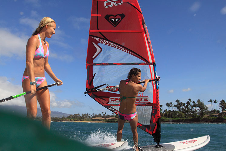 Windsurfing - Step 1- Get On Board