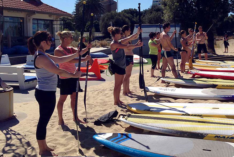 SUP - Group Lesson