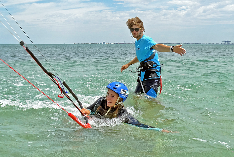 Kiteboarding - Step 2 - Water Control