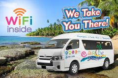 Caribe Shuttle Shared Airport Transfer from  Limon Airport to Puerto Viejo